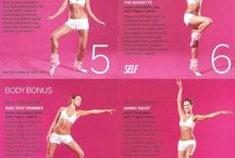 Ballerina work out