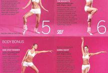 Ballerina work out