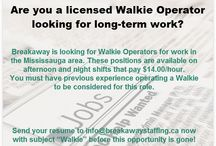 We're Hiring!! / We are hiring for clients in the Transportation and Logistics industry located in the GTA.