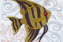 Stitching: Fish & Ocean Life / by Eddi Miglavs