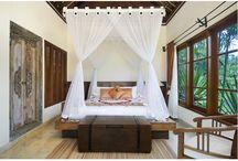 bali bed decoration