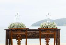 Casamento na praia, campo, rústico / Decoração e ideias