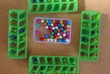 Créations de jeux / Création de jeux pour ma classe, inspiré de Pinterest et Montessori