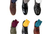 Laonsocks Men's High-Quality Solid Color Crew Dress Socks 6-Pack