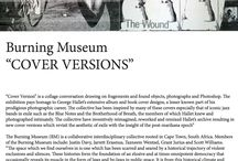 "Exhibition: Burning Museum 'Cover Versions' / In August 2015 Gallery MOMO hosted Burning Museum, who curated ""Cover Versions"" - an exhibition paying homage to George Hallet's extensive album and book cover design - a lesser known part of his prodigious photographic career."