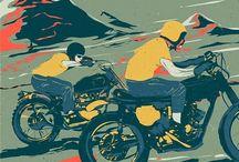 Motorcycle Art