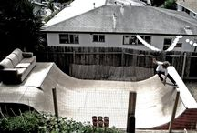 { skateboarding }
