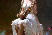 Hegedű, violin / Hegedű, mint hangszer az érzelemben, szerelemben