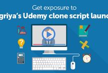 Udemy clone script - Teachr / The scope of online tutorials and education marketplaces is growing big. With the current marketplace trends, Agriya has developed an impressive Udemy clone with an extensive online education vision.