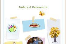 Nature et découverte / Jeux en chemise sur le thème de la nature, par l'Association Carpe Diem