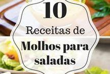 molhos saladas