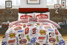 The Beano Comic Bedding / New bedding range which has been created using original vintage Beano imagery, features Dennis the Menace and Gnasher getting up to mischief.