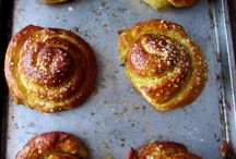 pretzels,rolls,and breads