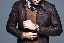 Allsaint leather jacket men