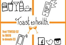 Toast to Health / Join Health Poverty Action in a toast to health, to send a message of goodwill and solidarity to those across the world who are yet to enjoy their full right to health.   To take part simply choose a drink to make your toast with, take a selfie/photo of your toast, text TTHT33 £3 to 70070 to donate £3 and post your picture on social media with the hashtag #toasttohealth. Don't forget to tag someone to pass the toast along! #Christmas