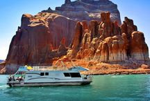 Boating Dreams / someday... a cruiser or houseboat... + Lake Powell / by HK Creations