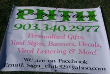 Banners / by SignChik- Family Birthday Boards & Yard Signs