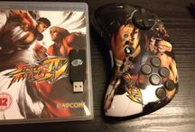 Street fighter / Capcoms classic fighter game and fightpad controller