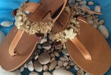 handmade sandals / σανδαλια