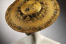 Millinery- Straw / Hats made of straw though history.
