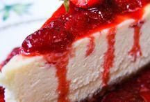 Cheesecakes.