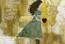 Collage/Art - Handwritten Notes, Letters, etc. / by Liz Zimbelman