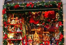 Christmas around the World / I just love the sights of Christmas decorations and celebrations around the world.