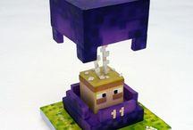 Minecrafts cakes