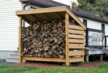 家:薪置き場