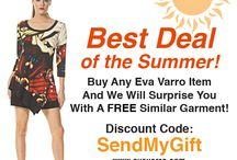 Eva Varro Best Deal of the Summer! / Eva Varro Best Deal of the Summer. Receive a FREE gift for each item you purchase. Your FREE Gift is Yours to Keep, No Matter What! Hurry While Supplies Last! www.evavarro.com