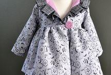Kleine Dametjes Mode/Little Lady's Fashion.