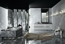FOUR SEASONS Collection 2007 / The designer Samuele Mazza and Alessandro La Spada have created this collection which emerge in contrast the classical style and the environment minimal. Essential lines yet absolute refinement achieved through a mix of elegance and plainness. First rate materials adorn these items of bath furniture, for luxury with no compromises.