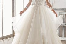 Prinsesse brudekjoler / Princess wedding dresses