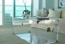 Lucite furniture / by Amie Raines