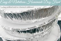 Dog food recipes / by Crystal Jones
