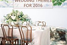 2016 Wedding Trends / We've got the hottest wedding trends for 2016