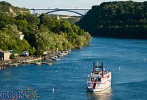 Niagara Belle / The majestic paddle wheeler that travels along the lower Niagara River. Offers Dinner, lunch, and Brunch Cruises. Perfect for special events!