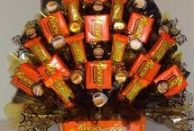 candy bouquets / by glamorous diva