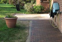 Brick paving example sites / Here is a range of example sites using our clay brick pavers