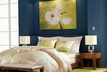 Blue Themed Rooms / Calming and peaceful, blue is a special hue.  / by Lutron Electronics