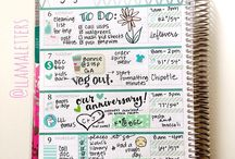 Daily Planner / Inspiration/Organization