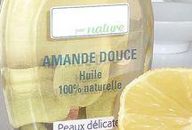 Les huiles végétales - cosmétique / Les huiles végétales - cosmétique bio, maison