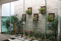 jardins e decoração
