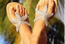 sandlias de crocher