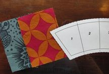 Double Wedding ring / The many ways to construct 'wedding ring' & 'pickle dish' quilts.