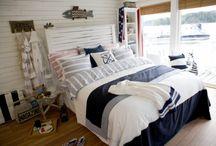 Nautische slaapkamer