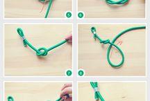 DIY Schmuck / DIY Ideen um Schmuck selber zu machen - knoten, Fimo, Perlen, häkeln, ...