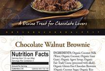 Chocolate Walnut Brownie / A Divine Treat for Chocolate Lovers