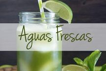 Refreshing Aguas Frescas / Aguas frescas, also known as fresh water, are a delicious, refreshing alternative to your favorite boozy drink. / by The Latin Kitchen
