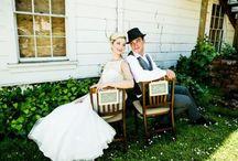 mariage en plein air ensoleillé / mariage en plein air ensoleillé